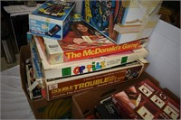 (2) Boxes of Assorted Board Games