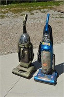 Bissell and Hoover Upright Vacuums
