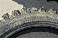 Set of Used Dirt Bike Tires and Snowmobile