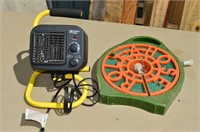 Electric Heater and Soaker Hose