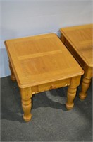 (2) End Tables with Drawers