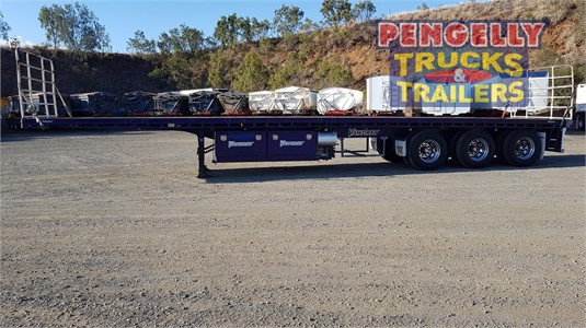 2008 Vawdrey Flat Top Trailer Pengelly Truck & Trailer Sales & Service - Trailers for Sale