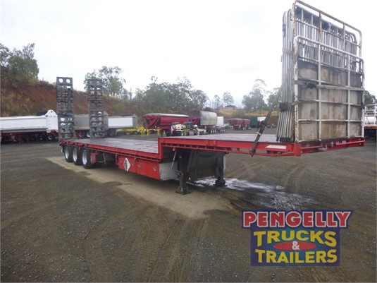2007 Maxitrans Drop Deck Trailer Pengelly Truck & Trailer Sales & Service  - Trailers for Sale