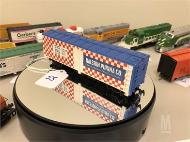 Tyco Ralston Purina Co Checkerboard Ho Scale Car Other
