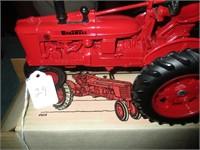 Farm toys, belt buckles, Madame Alexander dolls, Pol. pins