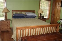 Five Piece Bedroom Set, Two Night Stands,