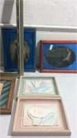 Collection of Frames & Art K14E