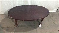 Dark Brown Wood Coffee Table Y12A