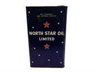 NORTH STAR OIL LIMITED IMPERIAL GALLON CAN