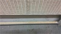 Wicker King Size Bed Frame w 2 Dressers M10C