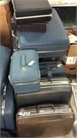 Large Collection of Vintage Luggage K10D