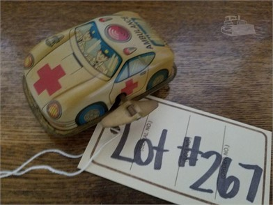 Ambulance Tin Wind Up Toy Car Other Items For Sale In
