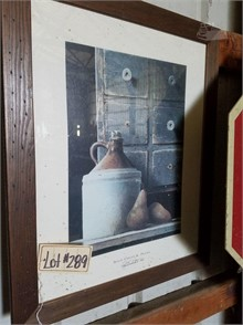 Picture- Primitive Crock Jug Other Items For Sale In