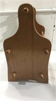 Metal Hangers and Wood Magazine Holder M13A