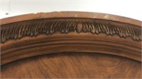 Large Extravagant Wooden Bench Q6A