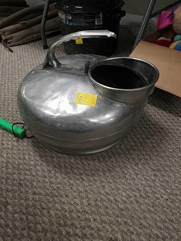 milking can no lid hefty auction service hibid com