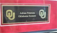 Adrian Petersen Signed Jersey