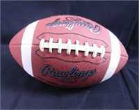 Adrian Peterson Football; signed