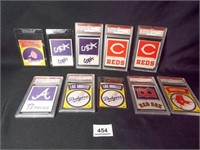 Baseball Cloth Patches - 10