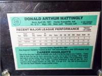 Baseball Don Mattingly Card