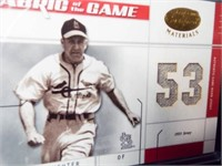 Baseball Enos Slaughter Jersey Card