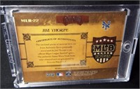 Baseball Jim Thorpe Jersey Card
