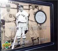 Baseball Jimmie Fox Pants Card