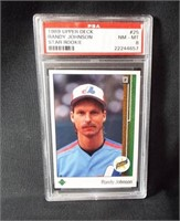 Baseball Randy Johnson Rookie Card