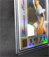 Baseball Thurman Munson Jersey Card