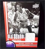 Basketball Jordan Materials Card