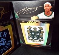 Basketball Jordan, James Logo Patches