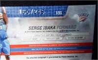 Basketball Serge Ibaka Signed Card - 2