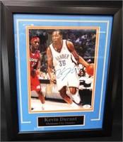 Basketball Thunder Durant Signed Photo