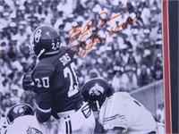 "Billy Sims and Bob Stoops Photo; 19½"" x 23½"""