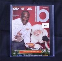 Billy Sims w/Santa; Bartlesville Monthly; 12/2012