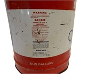 RARE LEMANS MOTOR OIL 6 U.S. GALLONS CAN