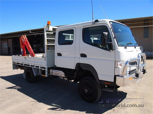 2013 Fuso Canter 4x4 Crew Cab - Trucks for Sale