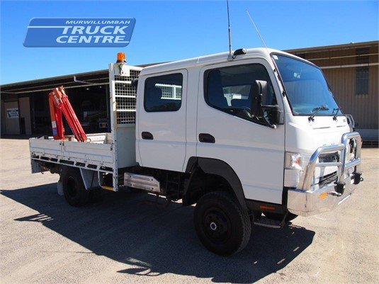 2013 Fuso Canter 4x4 Crew Cab Murwillumbah Truck Centre - Trucks for Sale