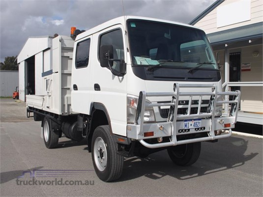 2010 Fuso FG84 4WD 4x4|Dual Cab|Table / Tray Top Drop Sides