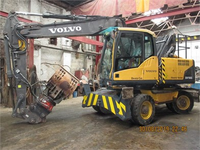 VOLVO EW160 For Sale - 30 Listings | MachineryTrader co uk