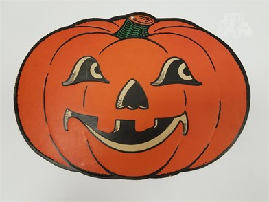 Vintage Halloween Jack O Lantern Die Cut Usa Other Items For