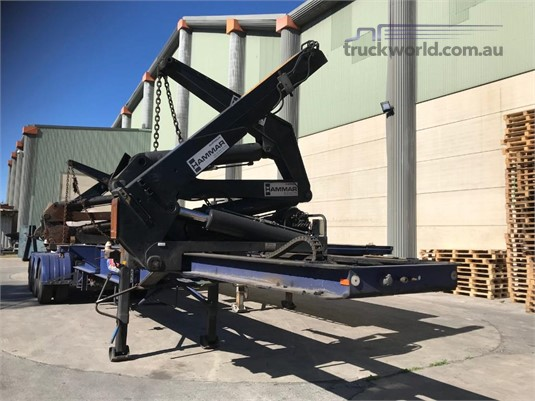 2006 Hammar Side Lifter Trailer Coast to Coast Sales & Hire - Trailers for Sale