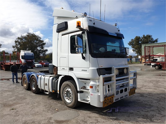 2012 Mercedes Benz Actros 2660 - Trucks for Sale