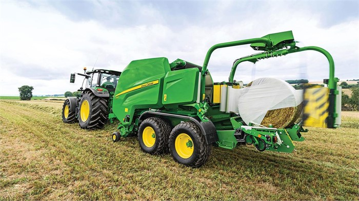 New Combination Baler-Wrappers From John Deere Cut, Bale