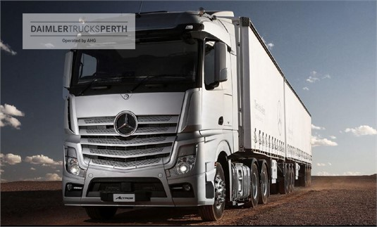Mercedes Benz Actros 2763 6x4 Prime Mover