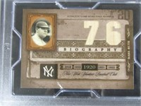Babe Ruth Baseball Card