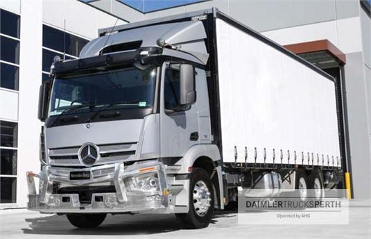 Mercedes Benz Actros 2530 6x2 Rigid