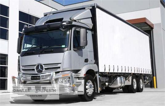 Mercedes Benz Actros 2535 6x2 Rigid