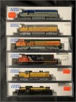6 Boxed Kato N Ga Diesels
