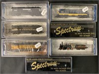7 Boxed Bachmann N Ga Locomotives